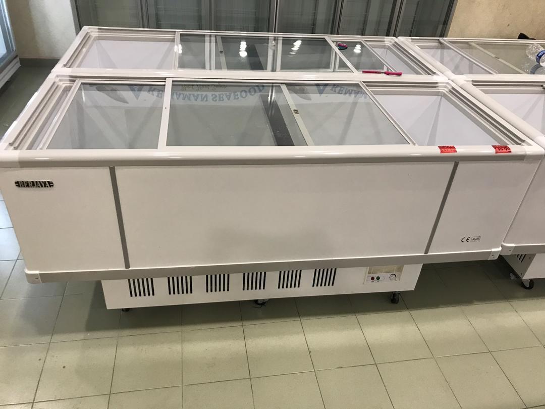 island freezer used