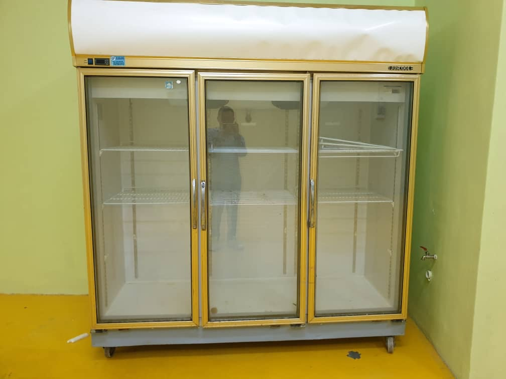 3 Doors Display Chiller 三门风柜
